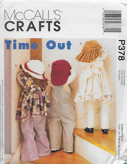 time out dolls sewing pattern