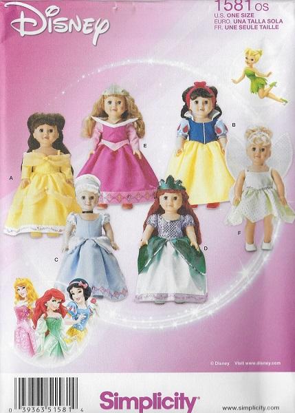 disney princess costume sewing pattern