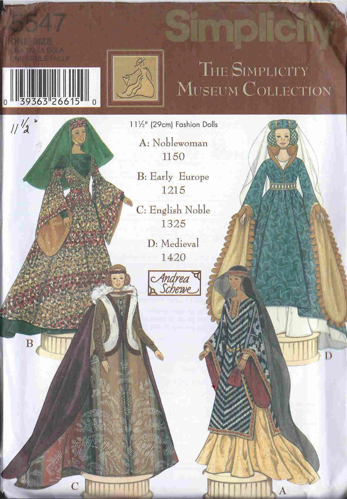 fashion doll dress sewing pattern