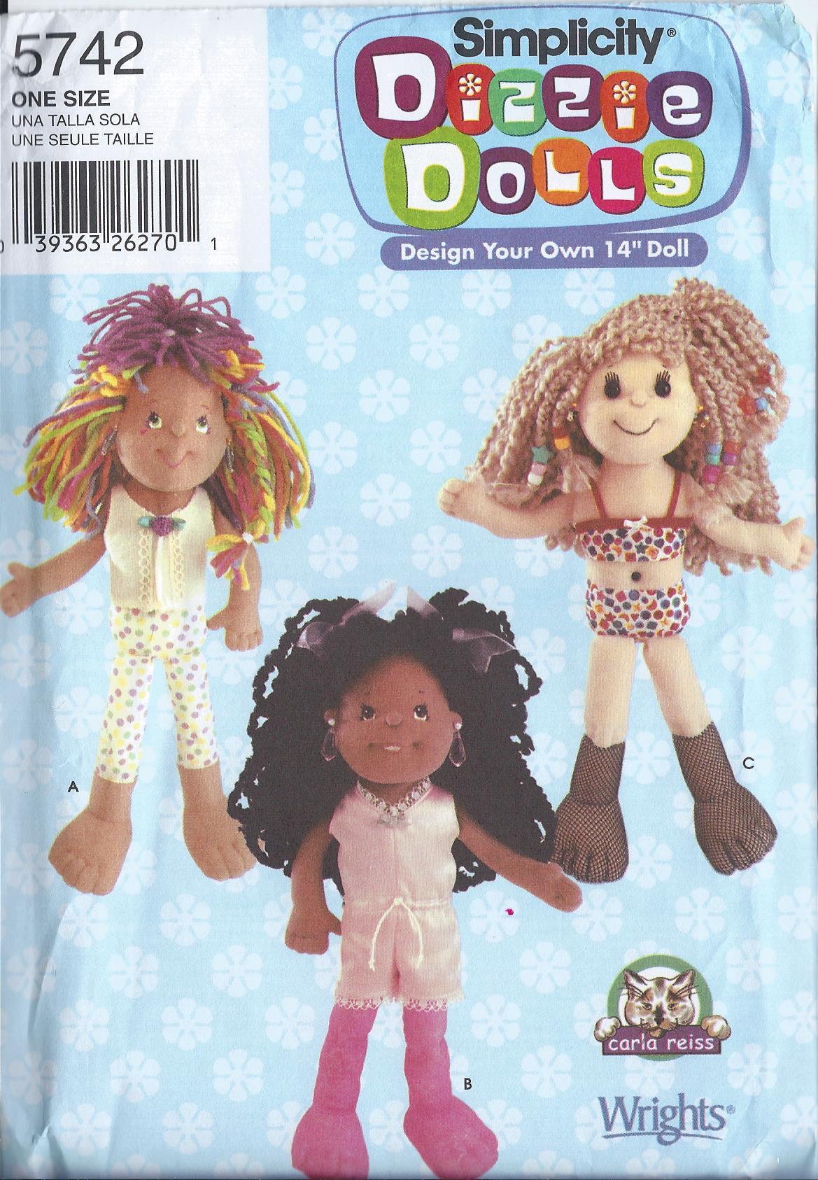 dizzie doll sewing pattern