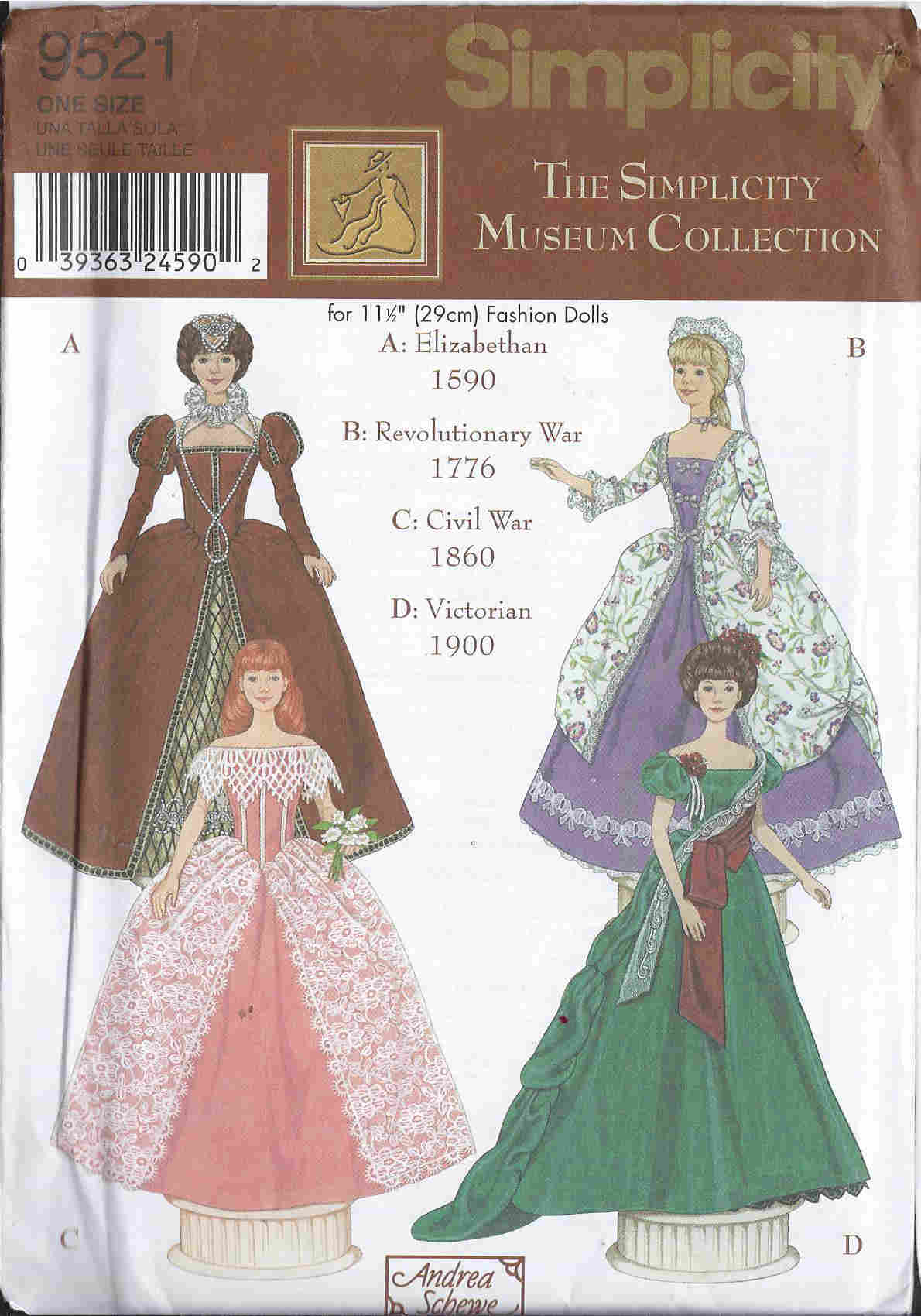 fashion doll museum sewing pattern