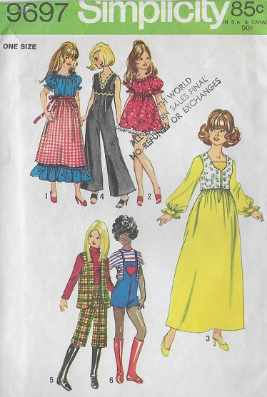 fashion doll dress hat evening sewing pattern