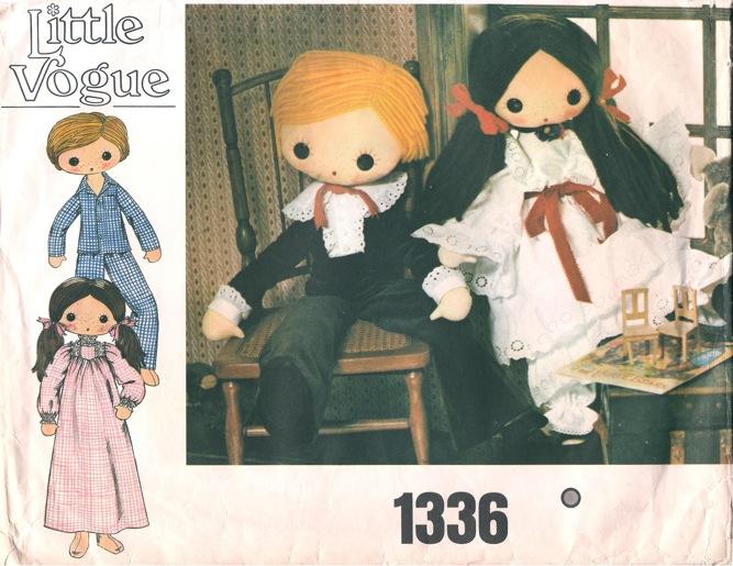 boy girl doll sewing pattern