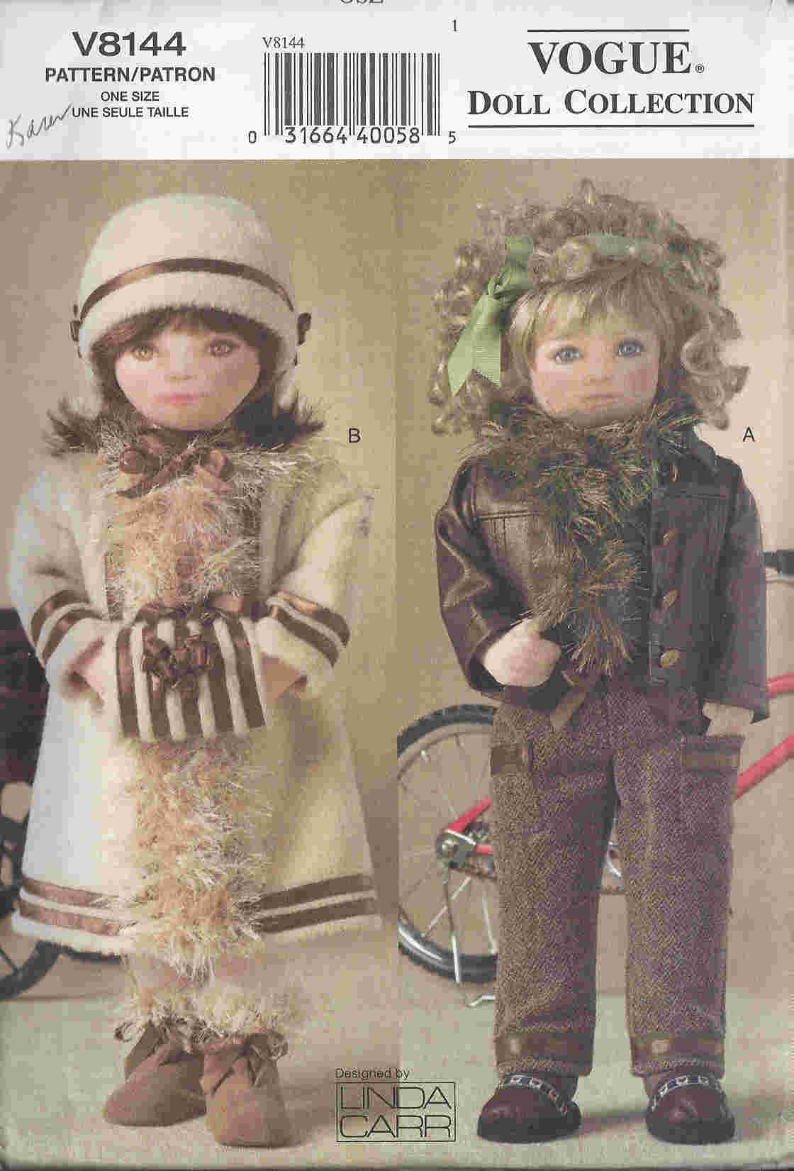 outdoor doll clothes sewing pattern