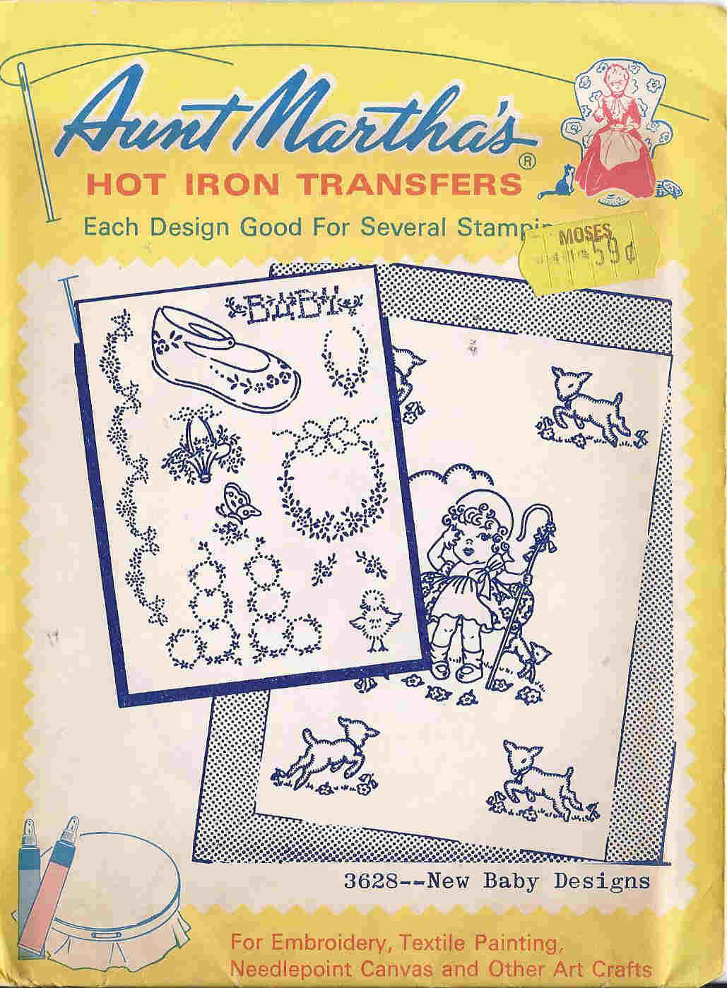 embroidery transfer pattern