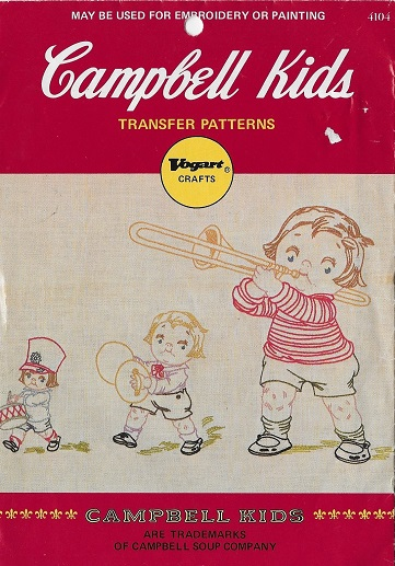 campbell kids embroidery transfer pattern
