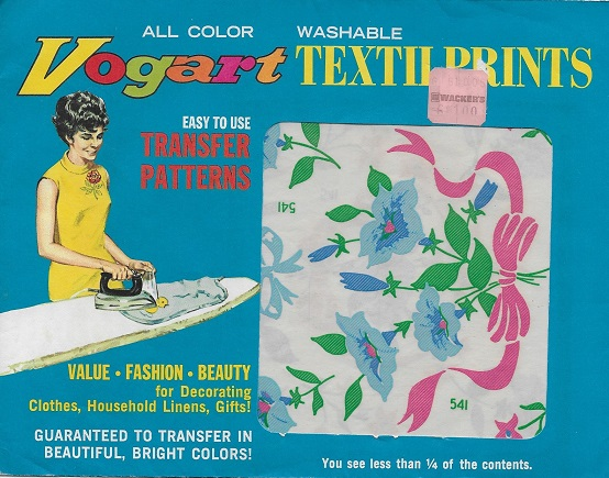 full color hot iron transfer pattern