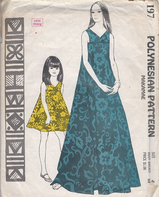 Polynesian makamae Sewing Pattern