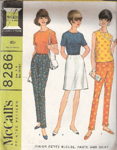 blouse pants skirt sewing pattern