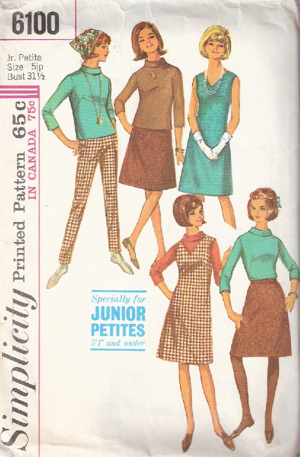 dress jumper skirt blouse sewing pattern