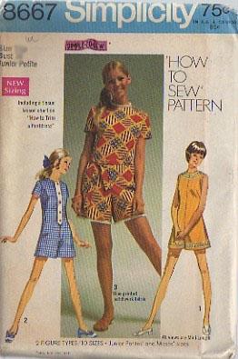 pantdress sewing pattern