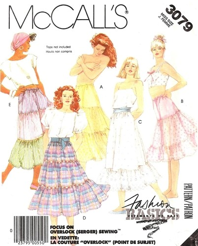 petticoat skirt sewing pattern
