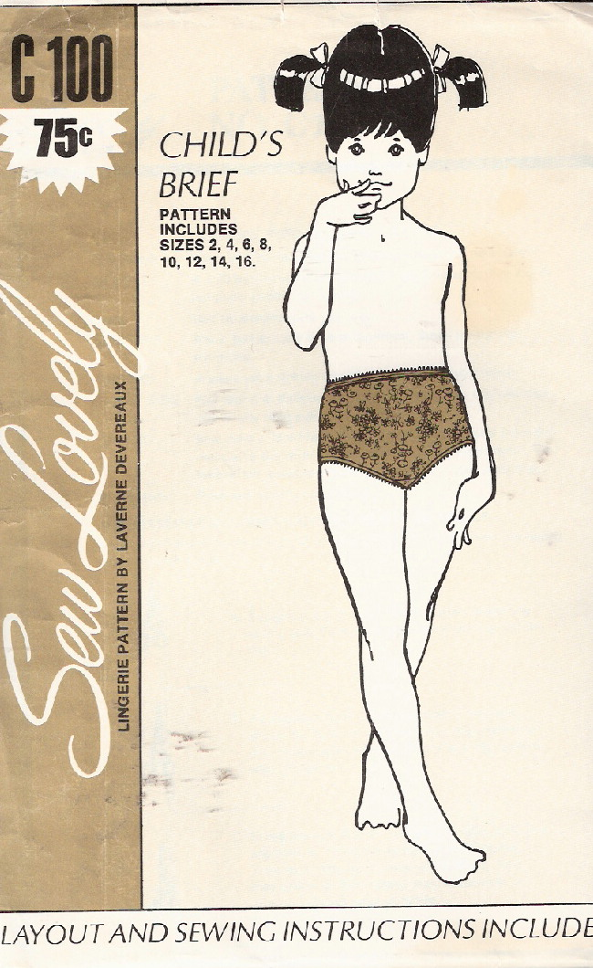 panties sewing pattern