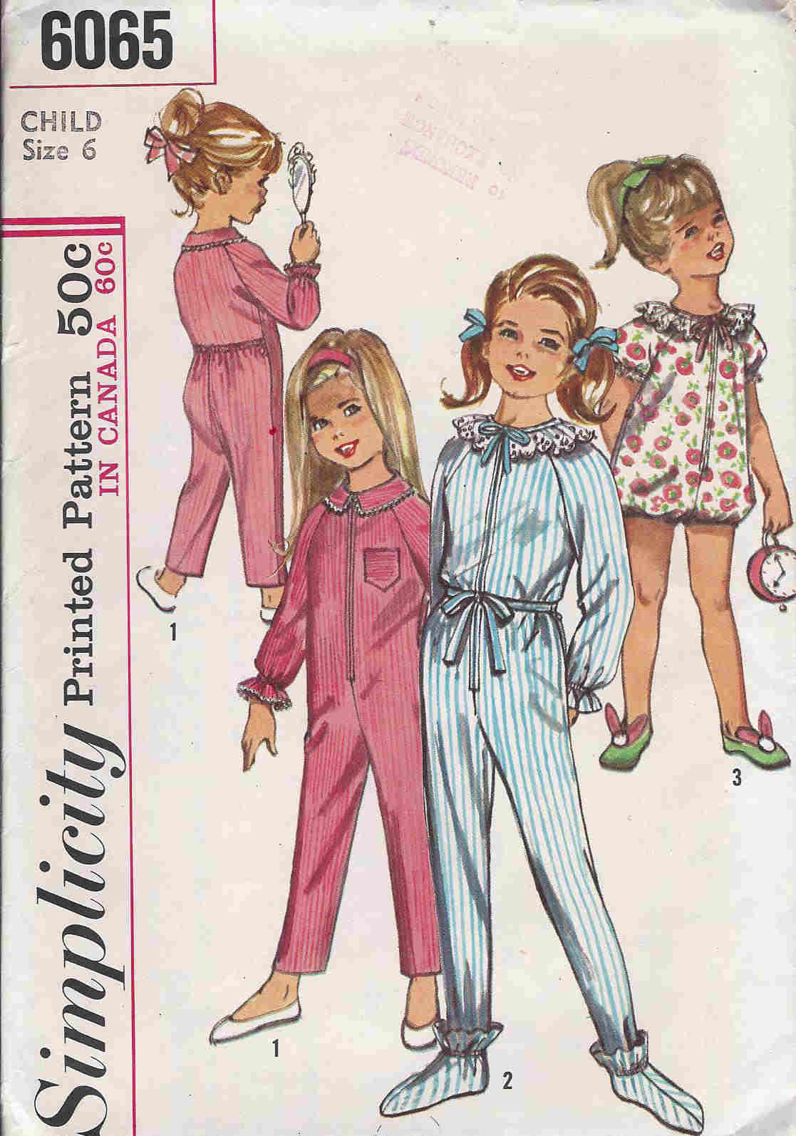 pajamas sleeper sewing pattern