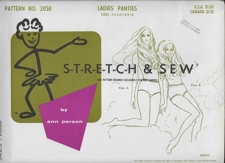panties sewing pattern