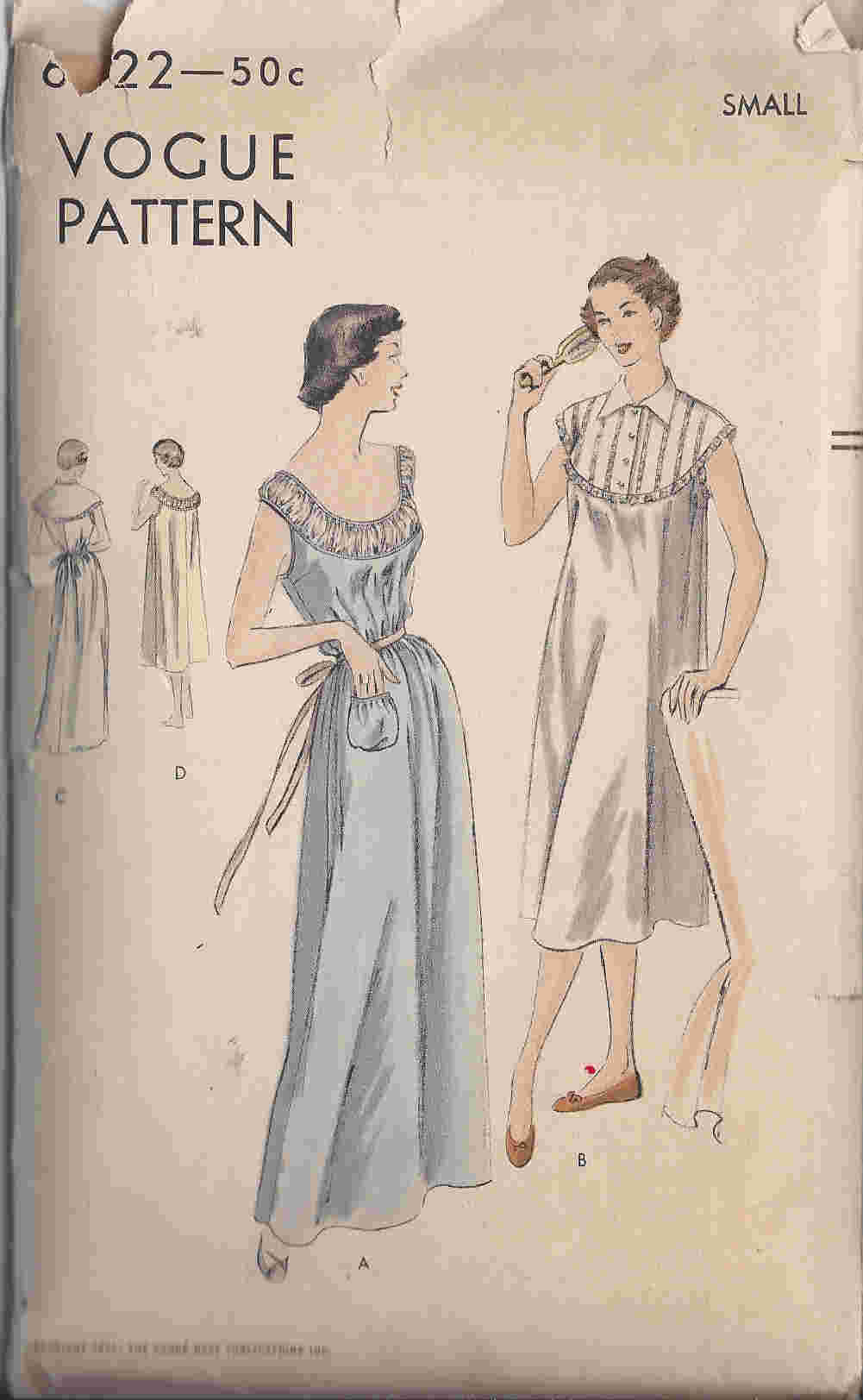 nightgown sewing pattern