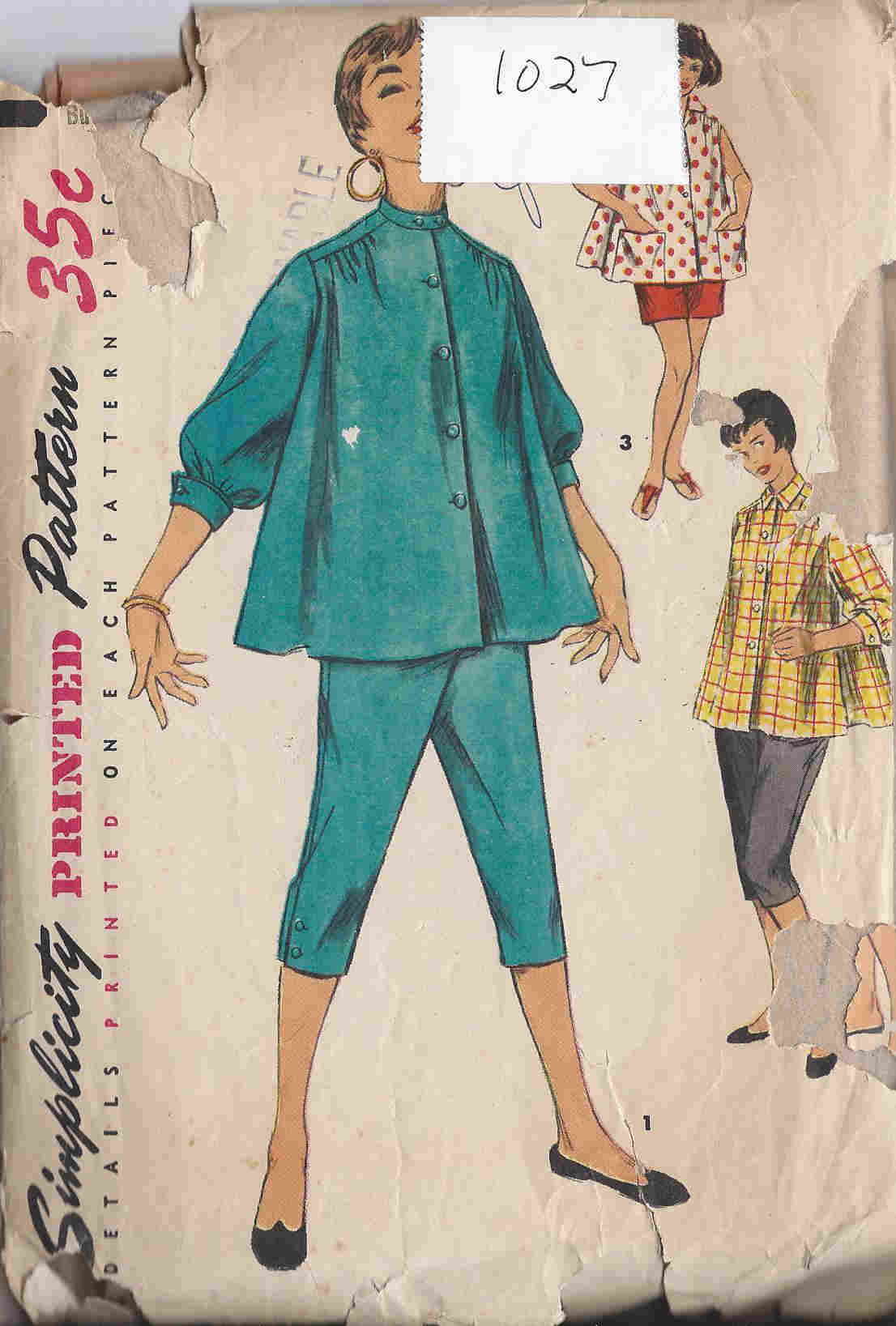 maternity shirt pants shorts sewing pattern