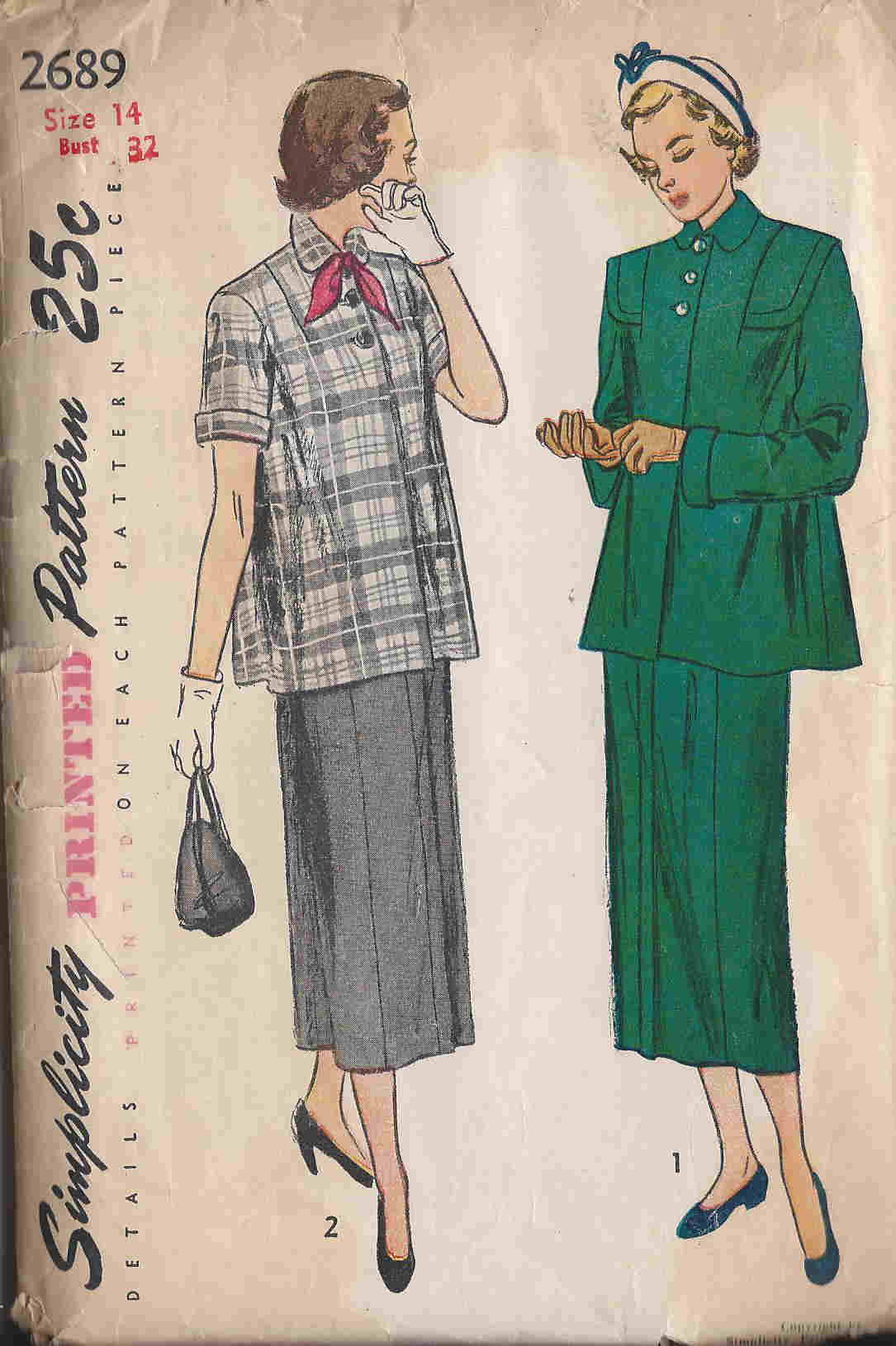 maternity suit jacket skirt sewing pattern