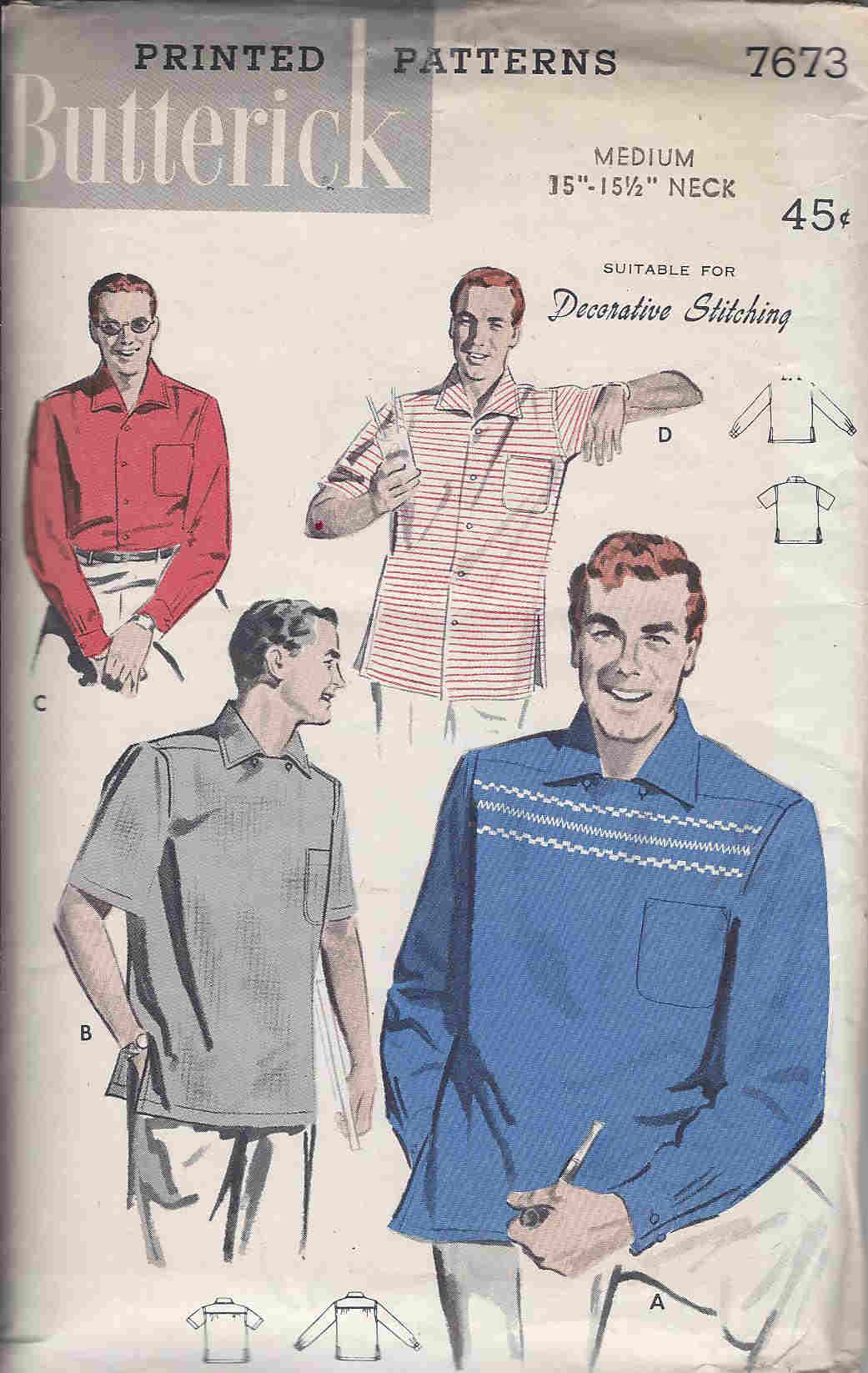 Sport Shirt sewing pattern