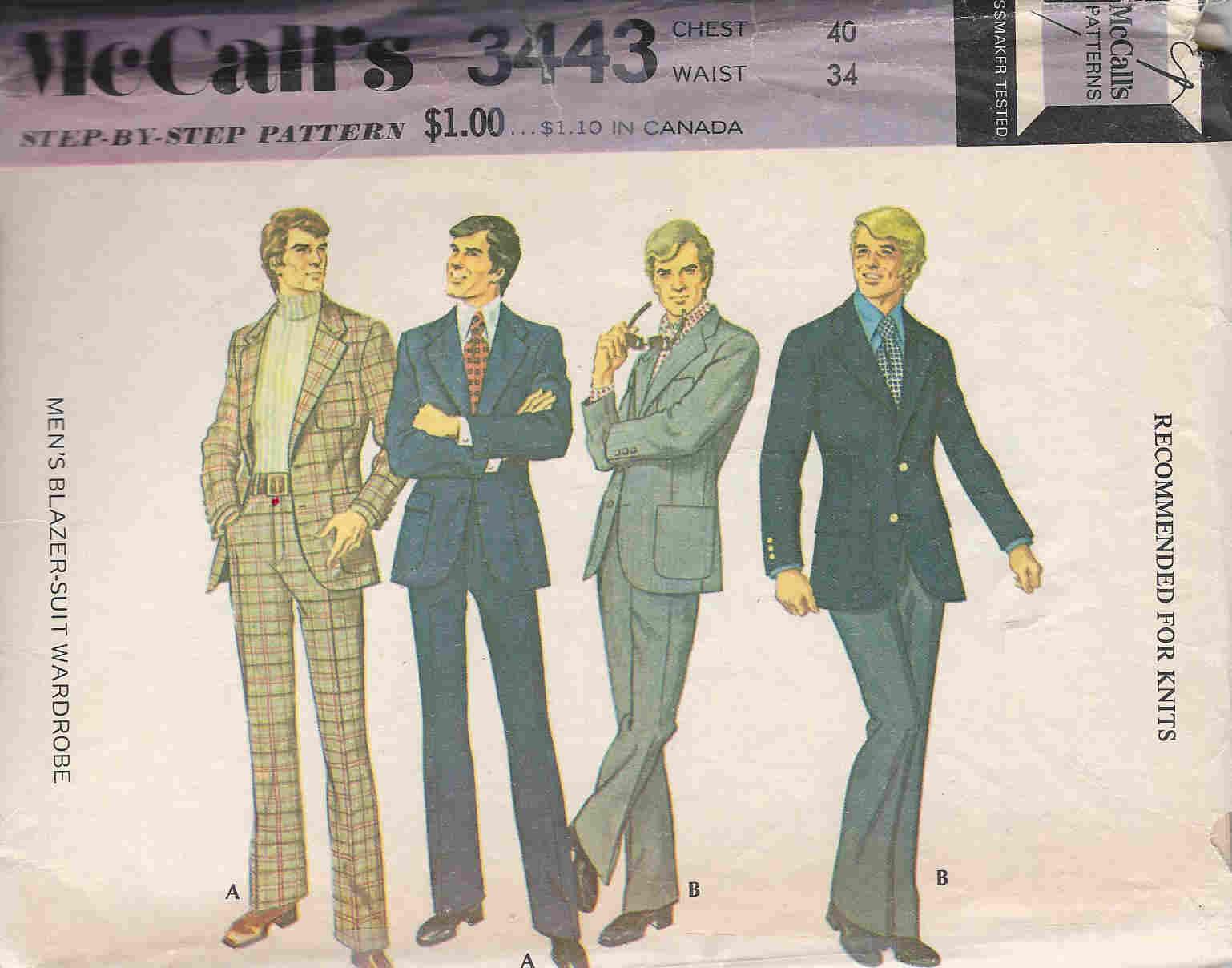 blazer suit sewing pattern