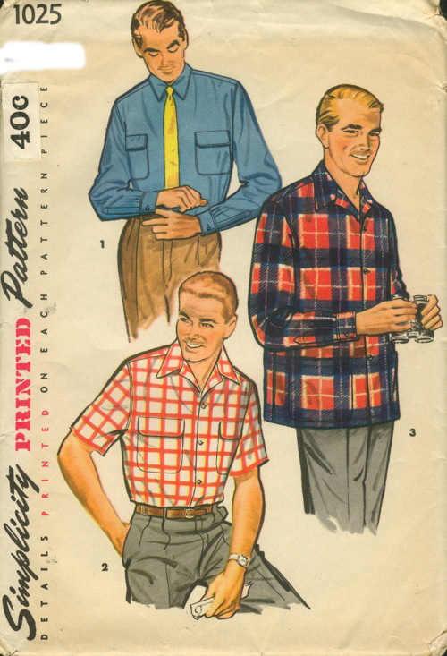 sport shirt sewing pattern