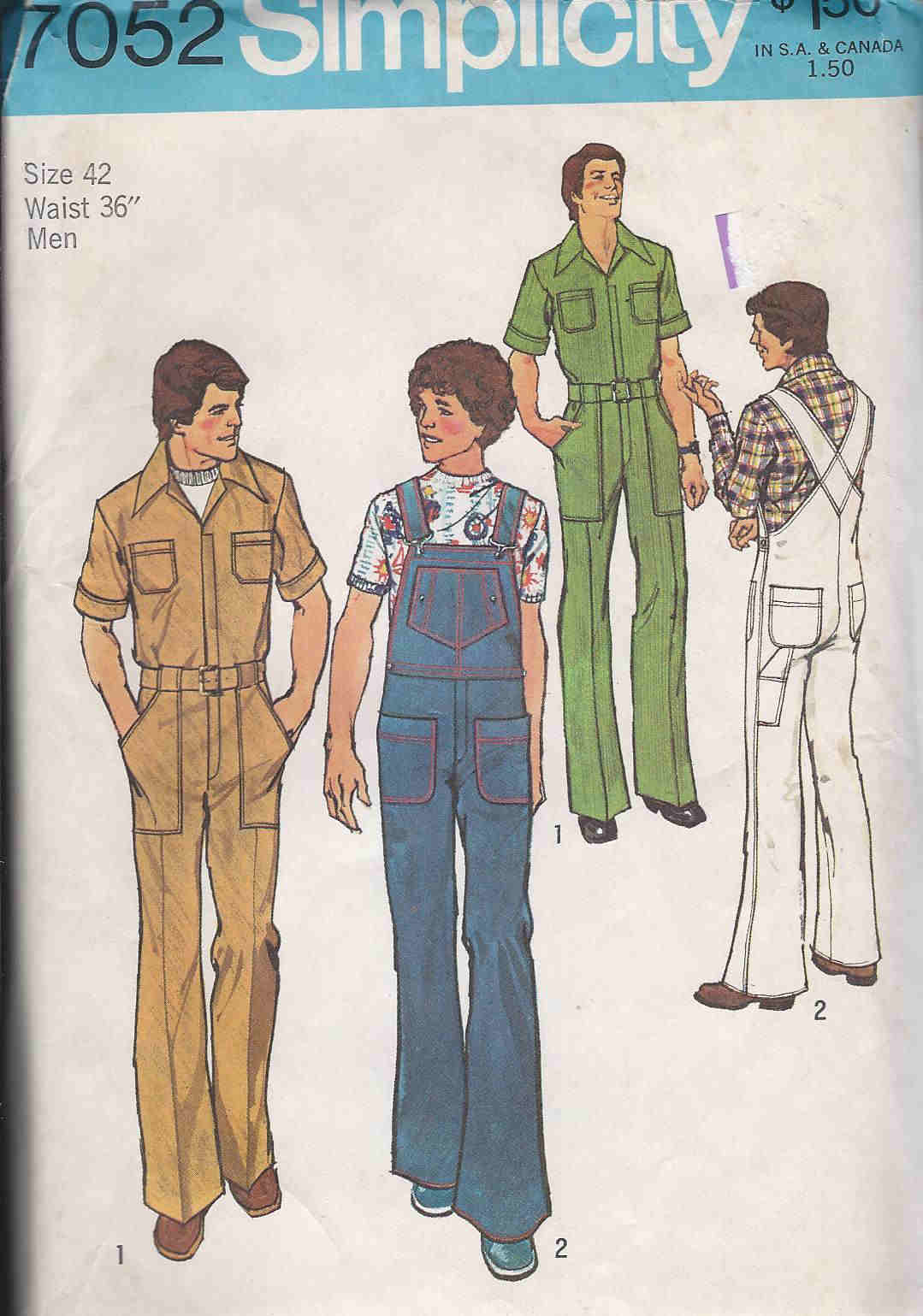 jumpsuit coveralls sewing pattern