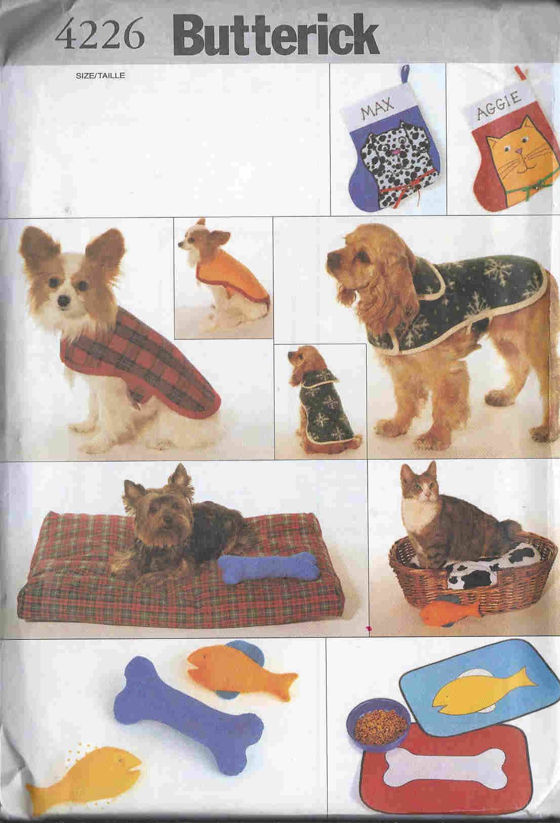 pet coat bed sewing pattern