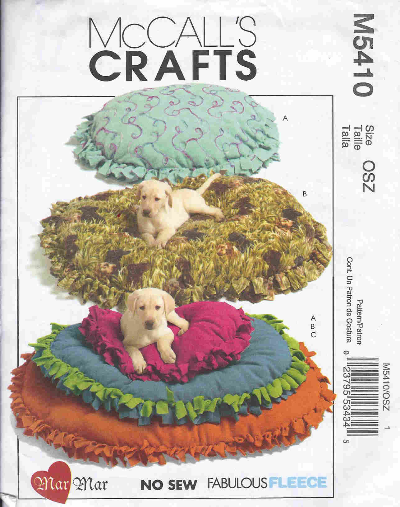 dog bed sewing pattern
