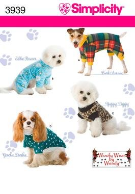 Woofy Wear dog costume sewing pattern