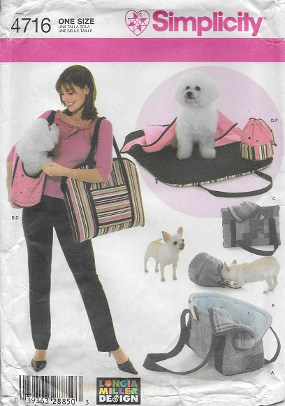 longia miller pet accessories sewing pattern