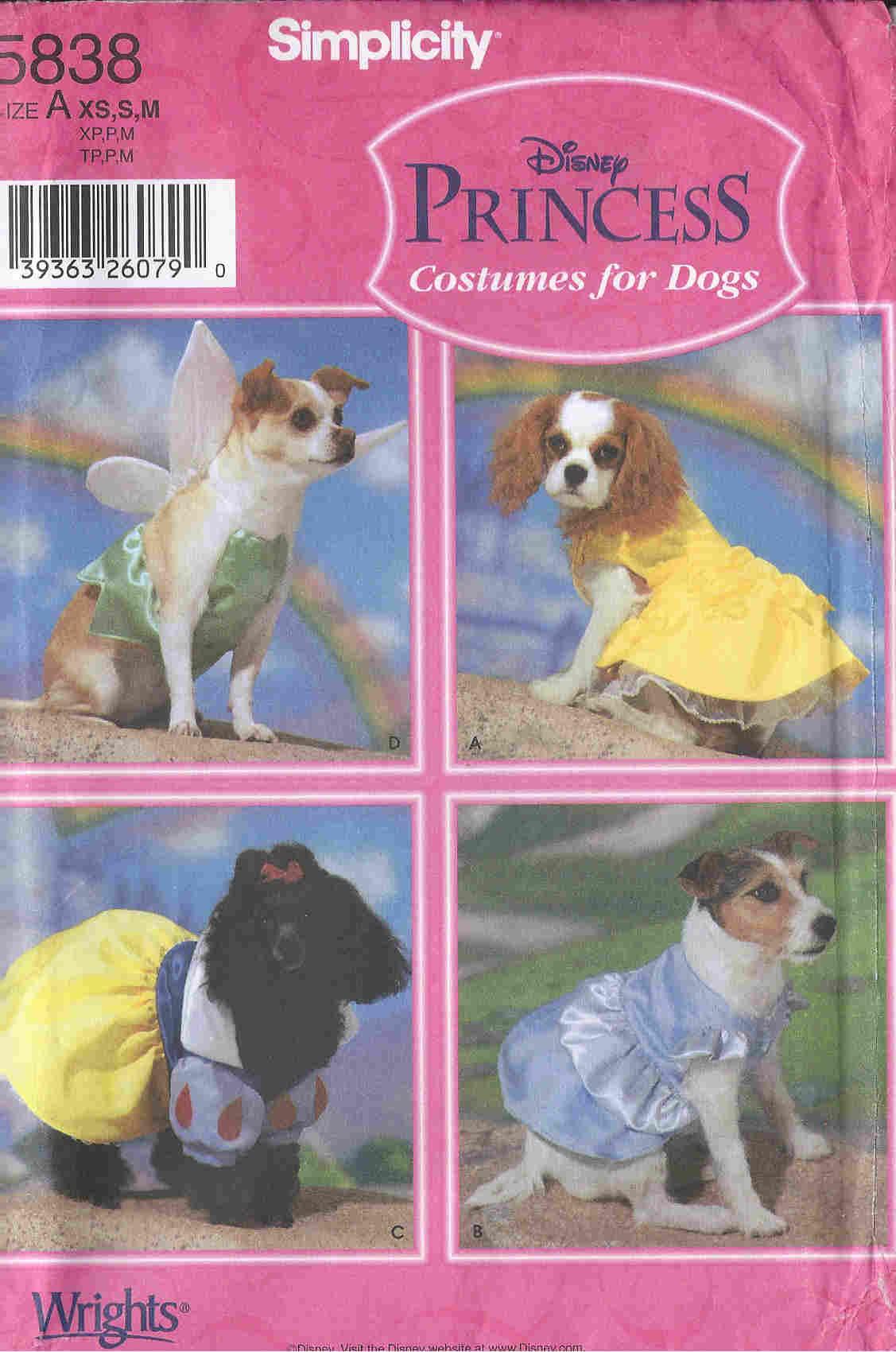 dog costume sewing pattern