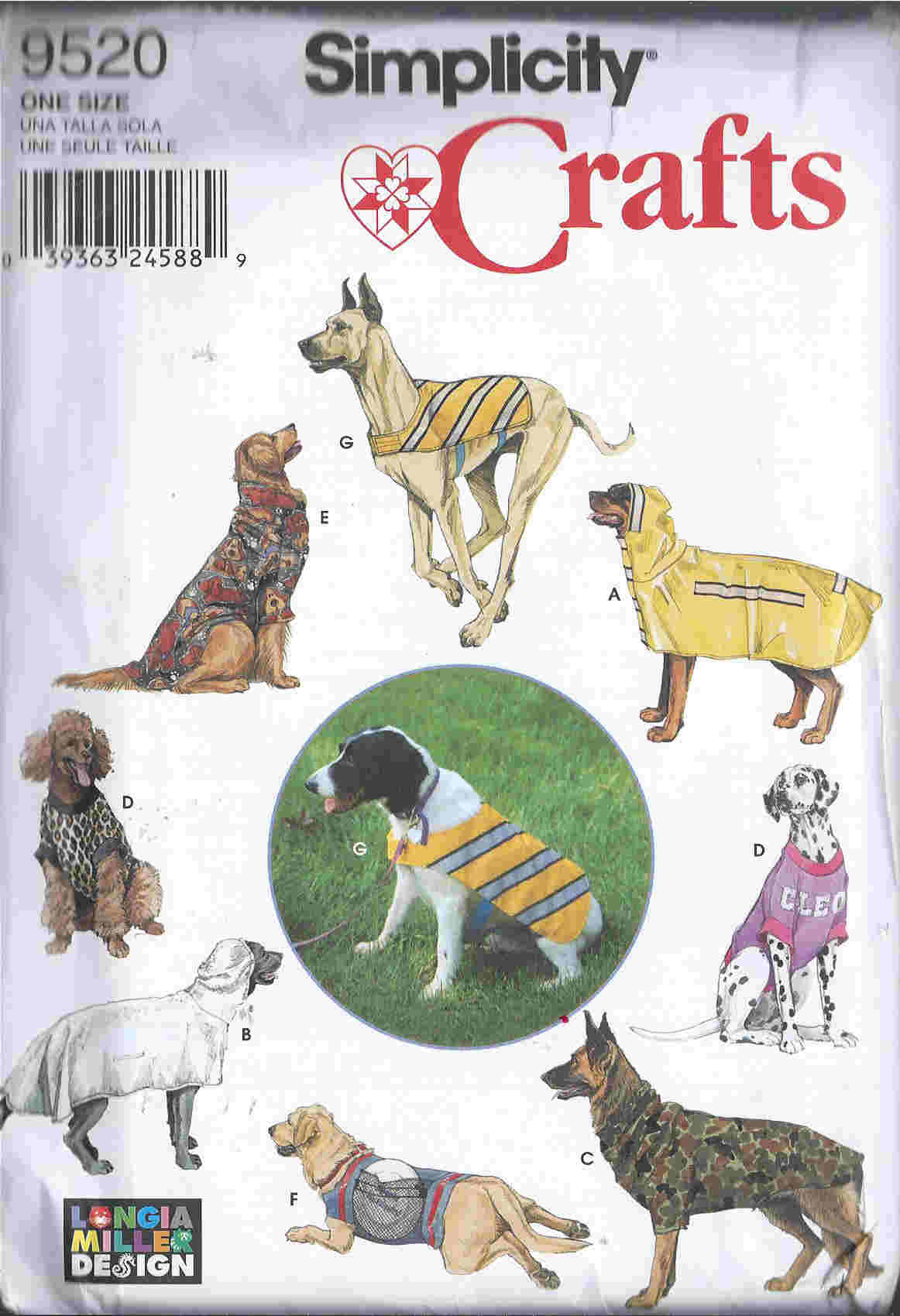 longia miller dog clothes sewing pattern