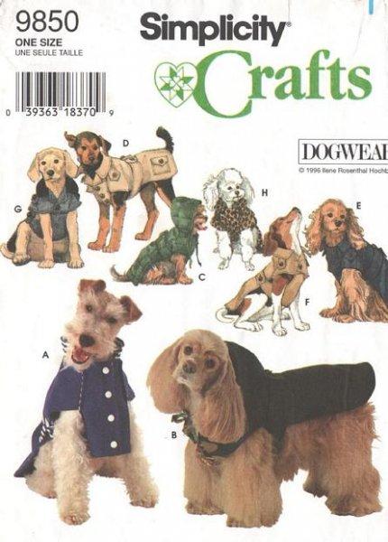 dog coats sewing pattern