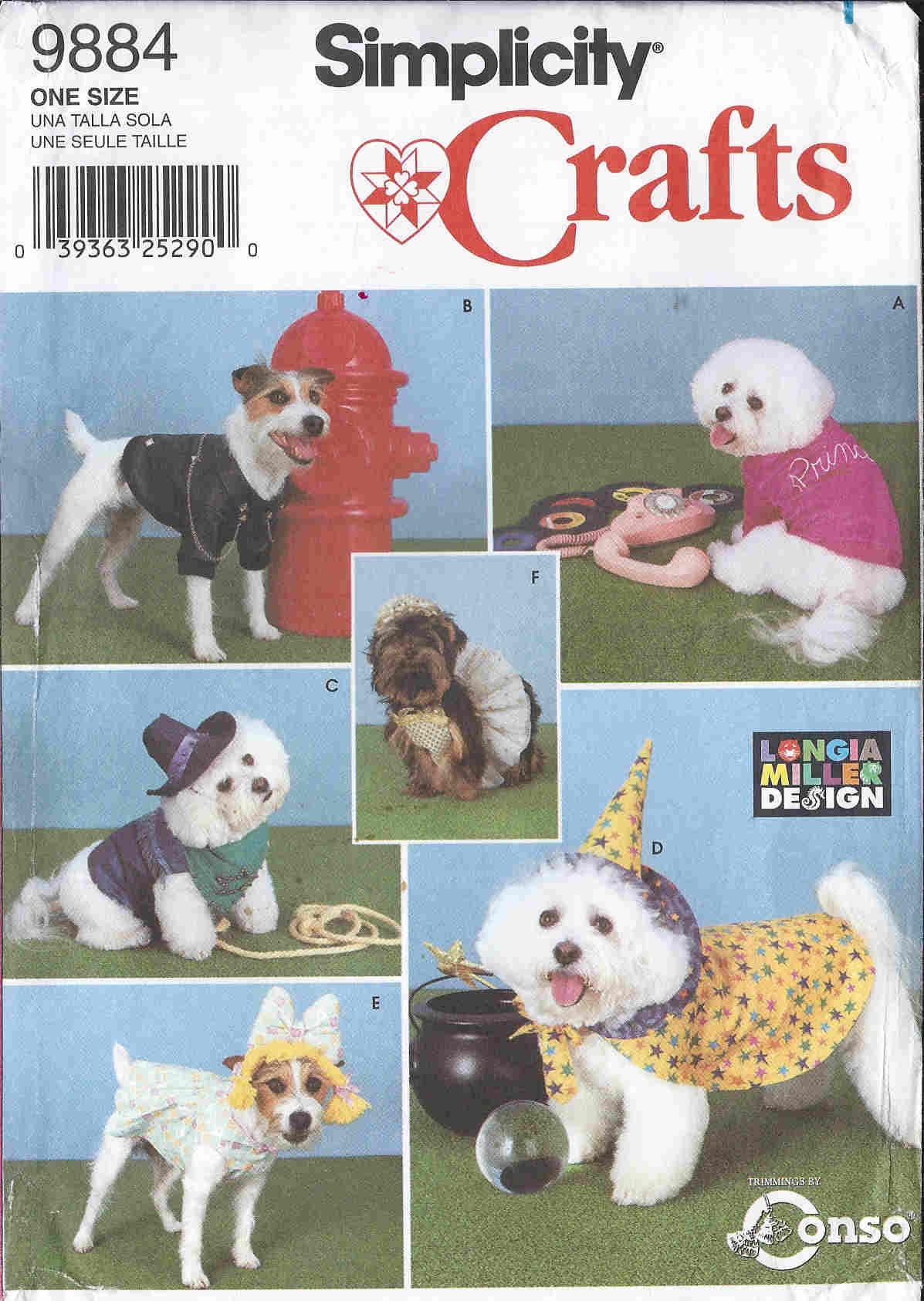 longia miller dog costume sewing pattern