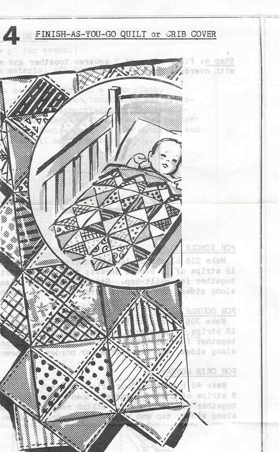 crib quilt sewing pattern
