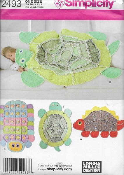 longia miller animal rag quilt sewing pattern