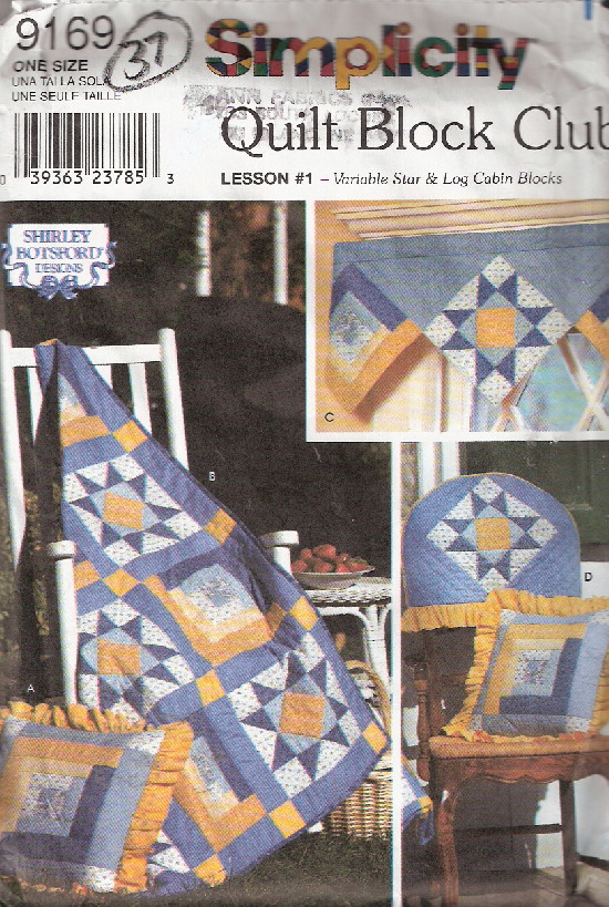 quilt sewing pattern