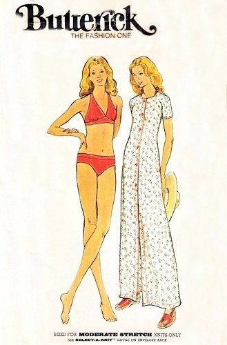 bikini cover-up sewing pattern