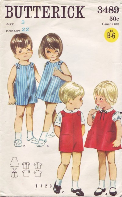 brother sister jumper blouse suit shirt sewing pattern