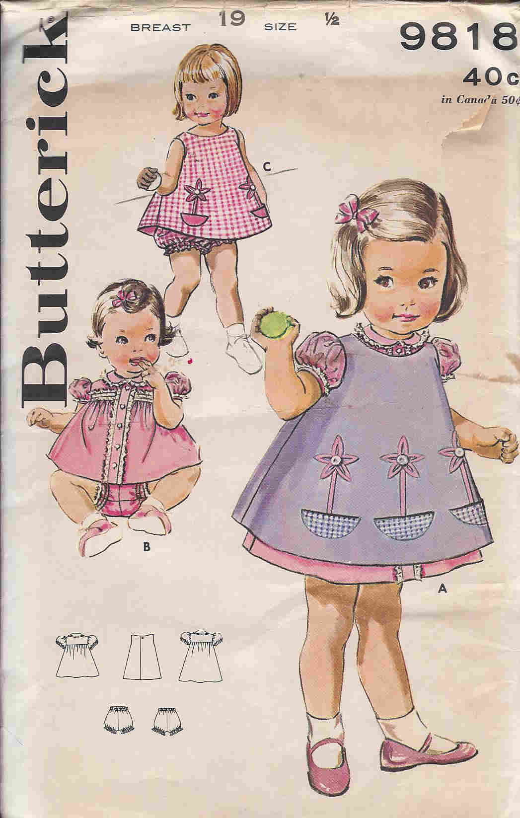 dress pinafore sewing pattern