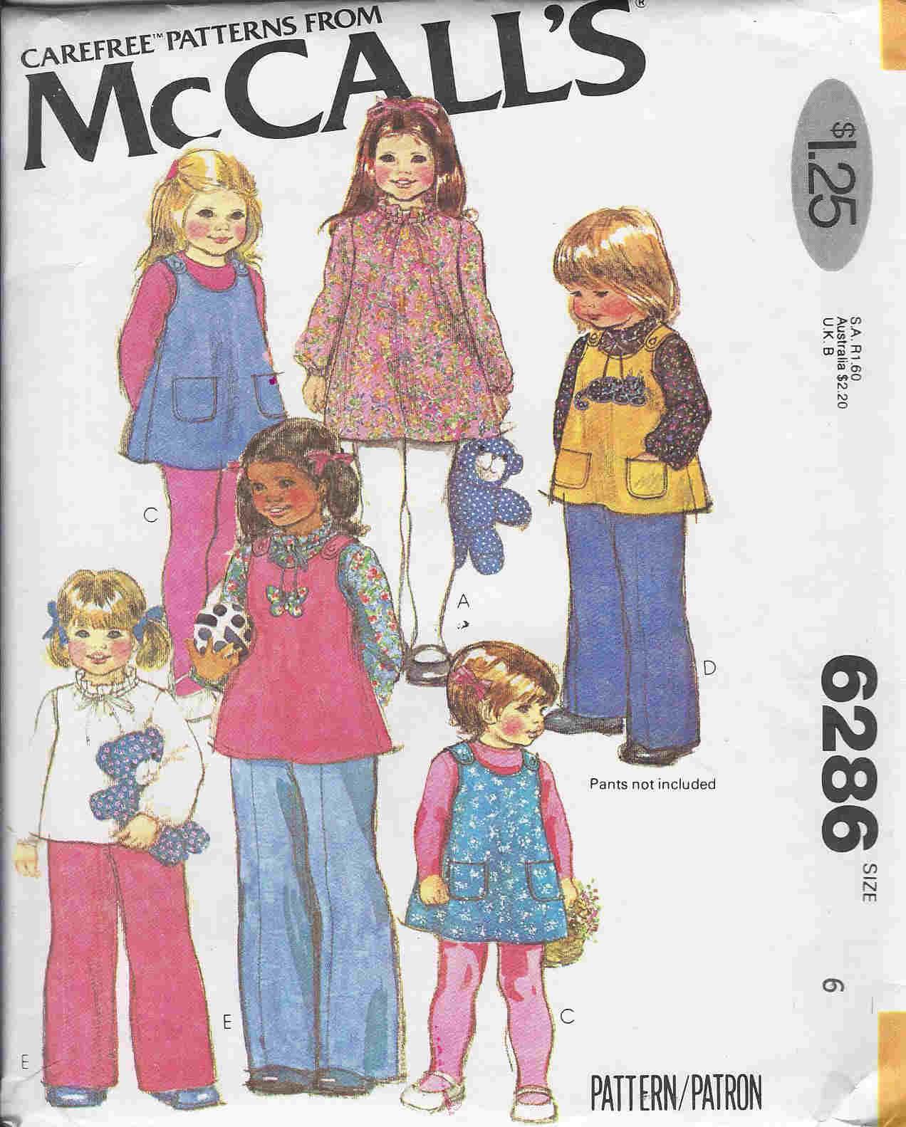 dress blouse jumper sewing pattern