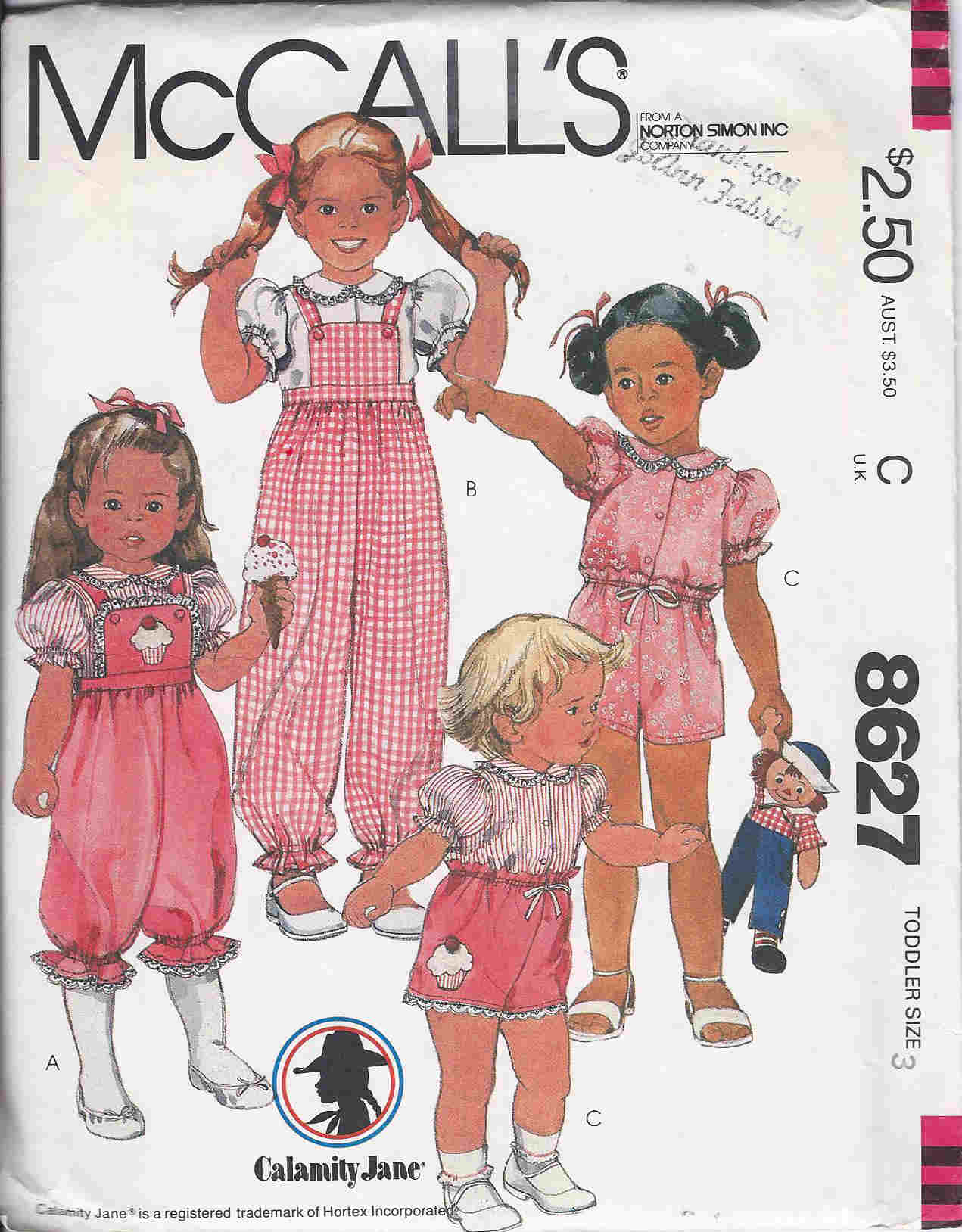 blouse overalls shorts sewing pattern