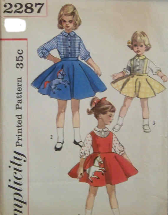 blouse jumper skirt sewing pattern