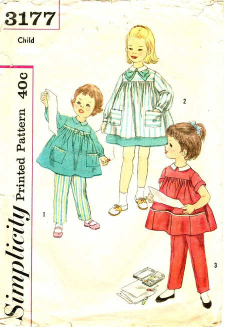 pants smock sewing pattern