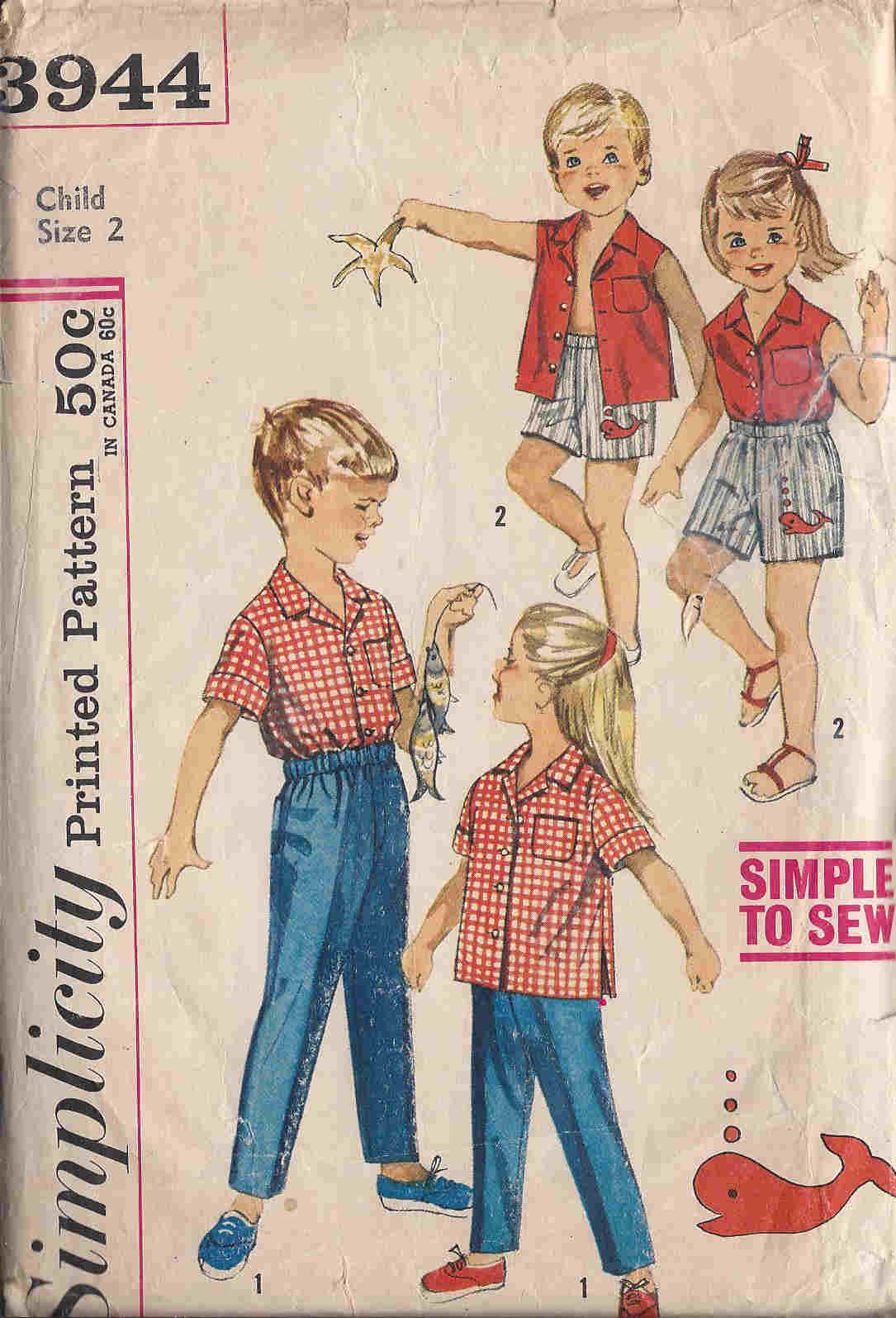 shirt pants sewing pattern
