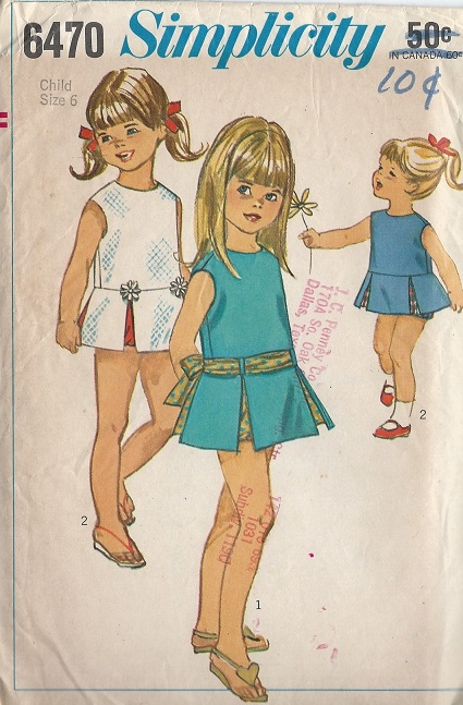 Dress Panties sewing pattern
