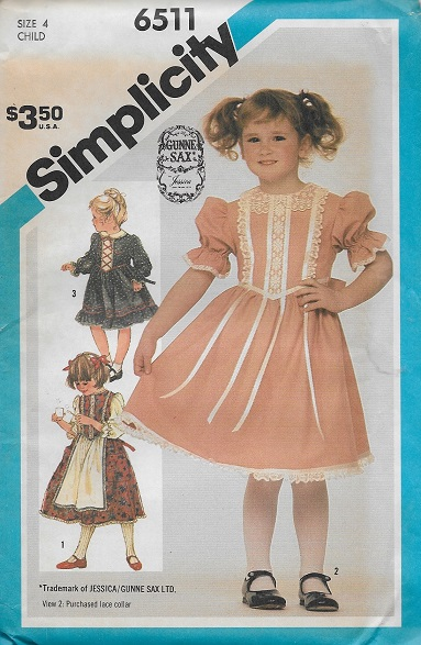 dress gunne sax sewing pattern