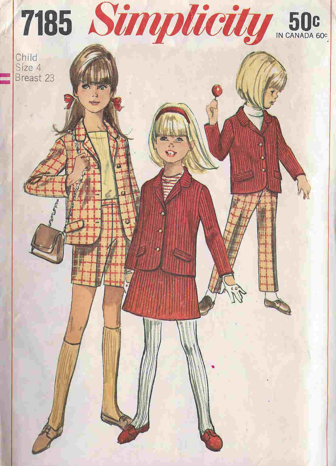 Pants Jacket Skirt sewing pattern