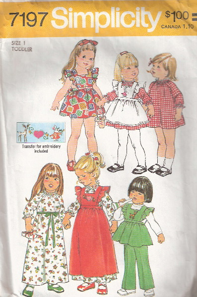 dress pants pinafore sewing pattern