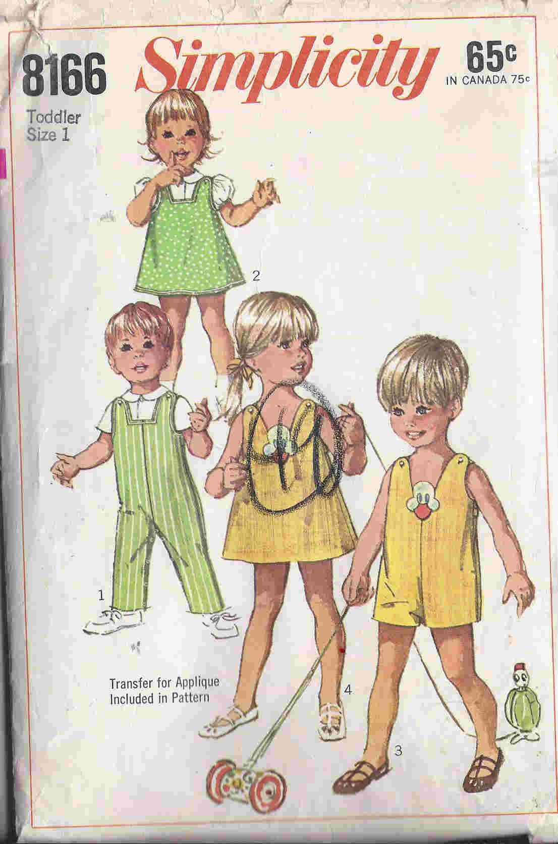 overalls jumper blouse sewing pattern